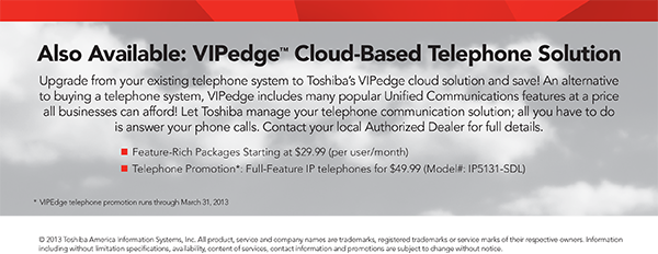 Cloud-Based Telephone Solution starting at $29.99!